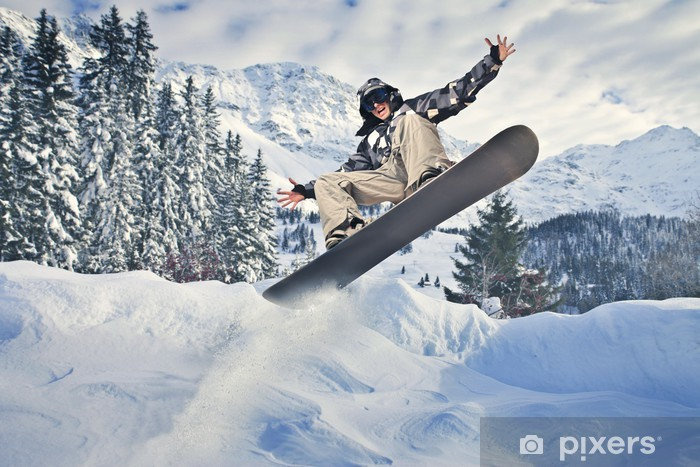 Winter sports Pixerstick Sticker - Winter