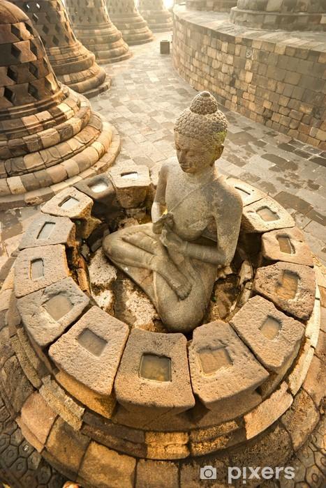 Vinyl Fotobehang De Tempel van Borobudur, Yogyakarta, Java, Indonesië. - Azië