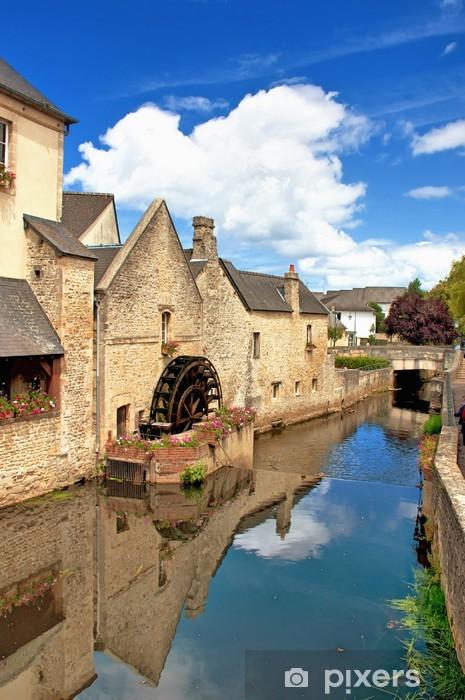 Fototapeta winylowa Historyczne centrum Bayeux - Watermill - Wakacje