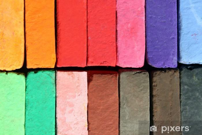 Naklejka Pixerstick Pastele, tło - Sztuka i twórczość