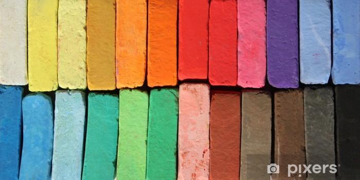 Naklejka Pixerstick Pastele kolory - Sztuka i twórczość