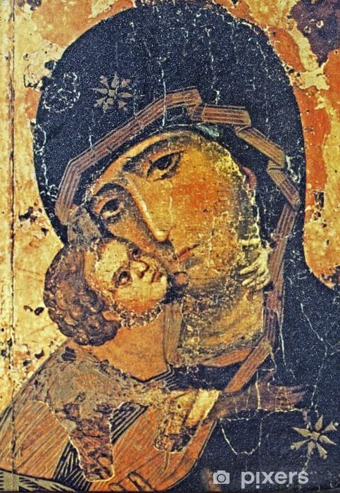 Papier peint vinyle Icône grecque - Thèmes