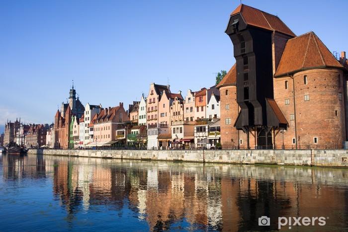 Sticker Pixerstick Ville de Gdansk - Thèmes