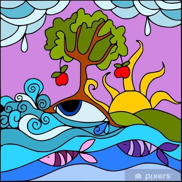 Plakat Abstrakcyjny charakter - Cuda natury