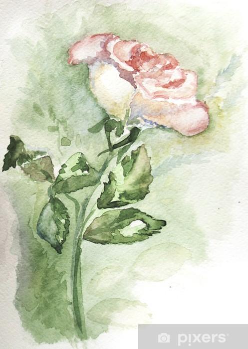 white rose 2 Pixerstick Sticker - Art and Creation