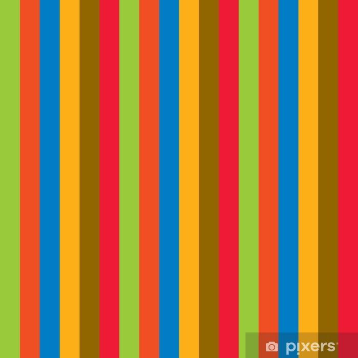 Naklejka Pixerstick Kolorowe wiersze - Moda