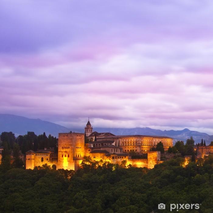 Fototapeta winylowa Panorama Alhambra, Granada, Hiszpania - Tematy