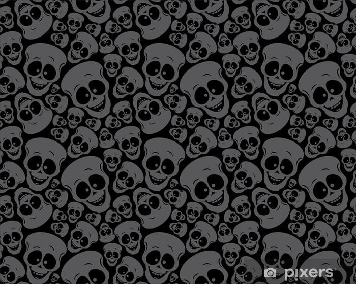 Behang Met Patroon : Fotobehang behang patroon schedels u2022 pixers® we leven om te veranderen