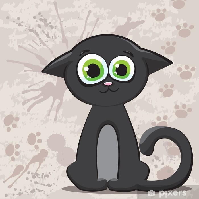 Fotomural Estándar Dibujos animados del gato - Temas