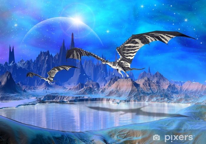Vinyl Fotobehang Dragons - Fantasy World 02 - Thema's