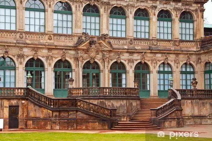 Vinyl-Fototapete Zwinger Palace in Dresden - Europa