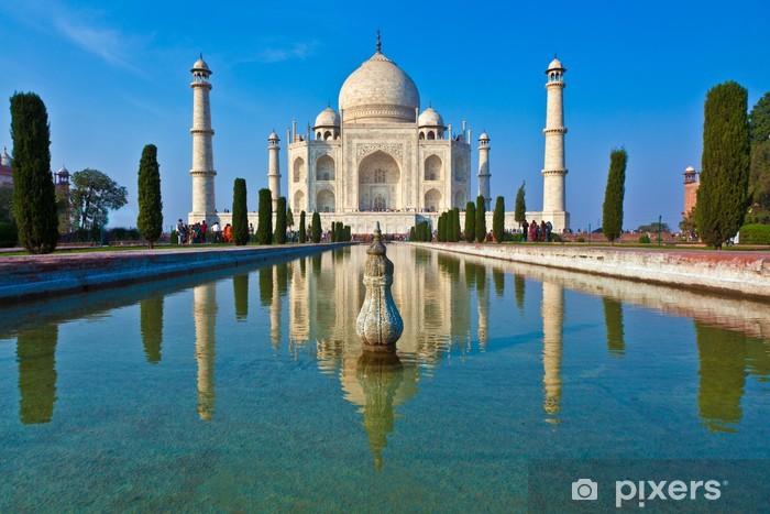 Pixerstick Aufkleber Taj Mahal in Indien - Asien