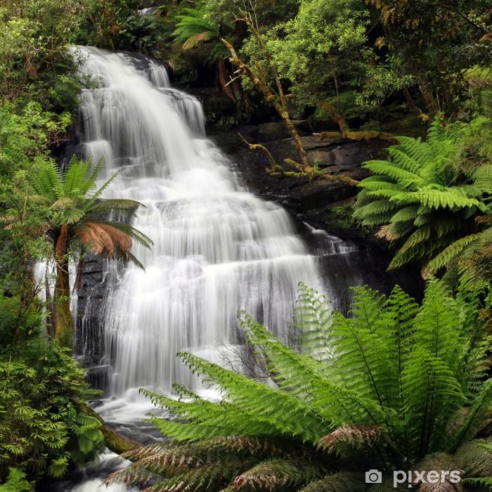 Pixerstick Sticker Waterval van het regenwoud - Thema's