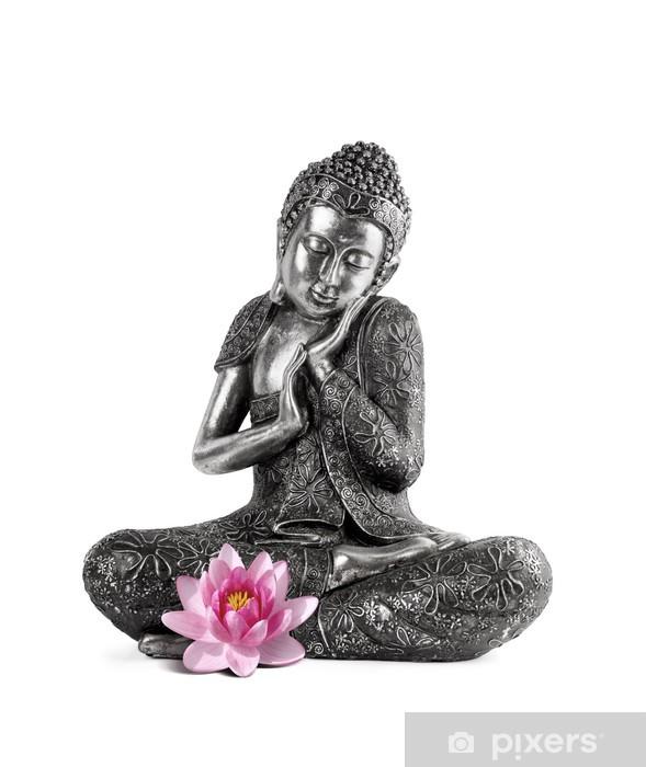 Vinyl Fotobehang Boeddha en Serenity - Muursticker