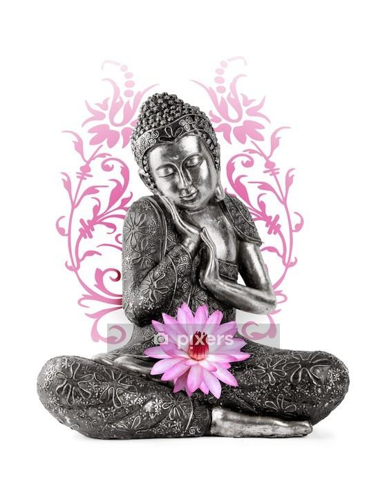 Naklejka na ścianę Posąg Buddy - Naklejki na ścianę