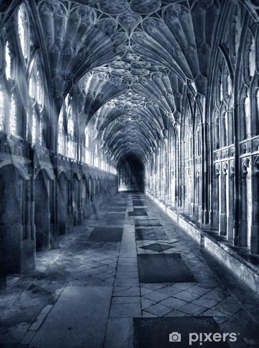 Vinilo para Nevera Interior gótico -