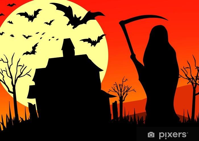 Fototapeta winylowa Halloween - la faucheuse - Święta międzynarodowe