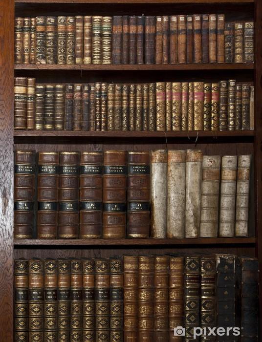 Papier Peint Livres Bibliotheque papier peint historiques de vieux livres dans la bibliothèque