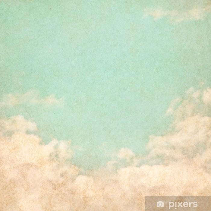 Naklejka Pixerstick Vintage Grunge Sky - Tematy