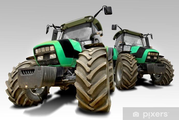 Sticker Pixerstick Tracteurs agricole - Thèmes