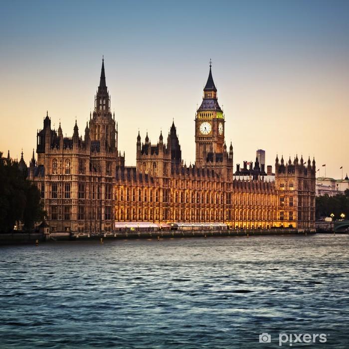 Sticker Pixerstick Houses of Parliament - Thèmes