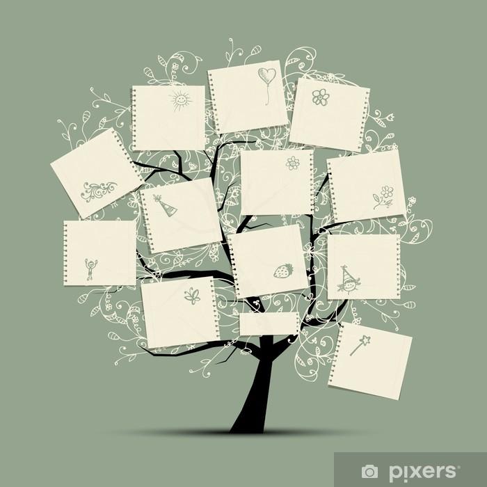 Papier peint vinyle Ma arbre pour votre conception - Style de vie