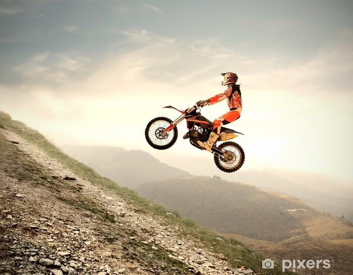 Pixerstick Sticker Motocross - Overige