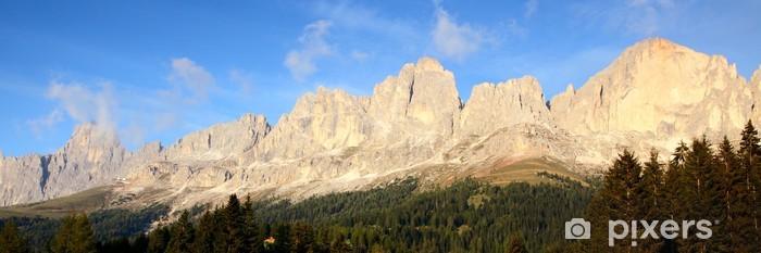 Papier peint vinyle Rosengarten Dolomites - Merveilles naturelles