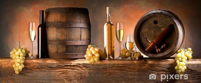 Fototapeta winylowa Martwa natura z białego wina - Tematy