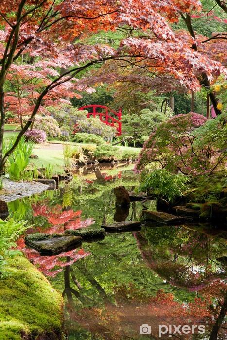Fototapeta winylowa Monet Japoński ogród w stylu - iStaging