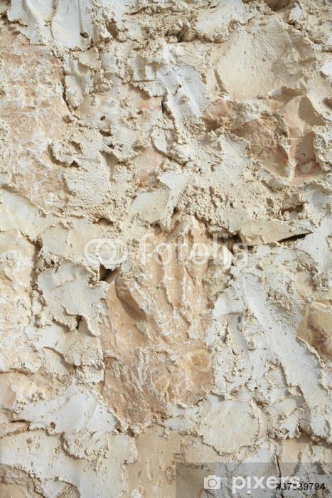 Fototapeta winylowa Tradycyjne tynki ścian - Tekstury