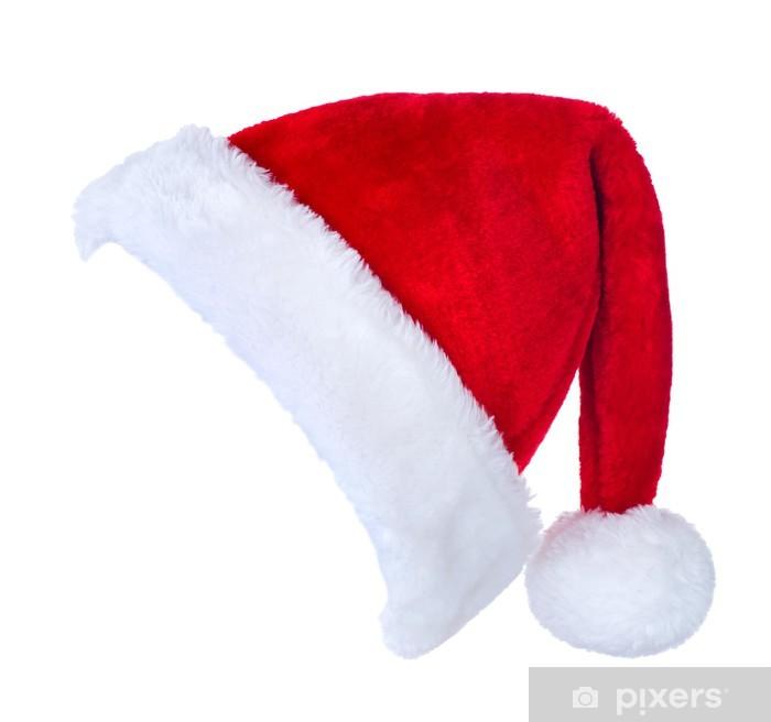 Immagini Cappello Di Babbo Natale.Carta Da Parati In Vinile Cappello Di Babbo Natale