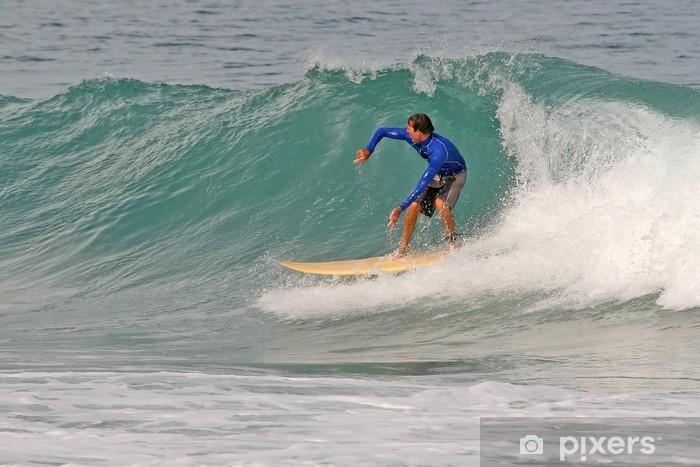Sticker Pixerstick Shortboard Surfer - Sports individuels
