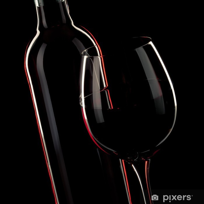 Plakat Szklana butelka wina - Tematy