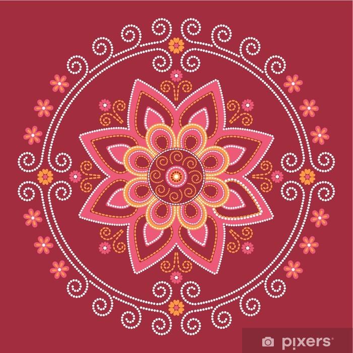 Lotus mandala Poster - Styles