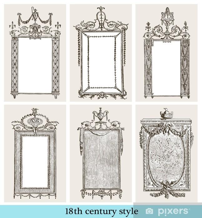 Papier peint vinyle Cadres 18ème siècle - Vente