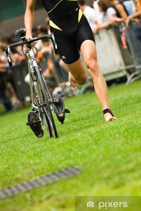 Sticker Pixerstick Triathlon Annecy Photo 22 - Réussite