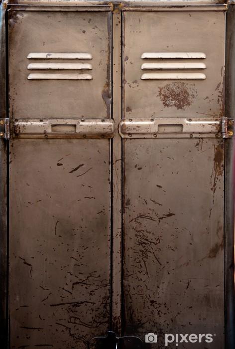 sticker casier en m tal vieux pixers nous vivons pour. Black Bedroom Furniture Sets. Home Design Ideas