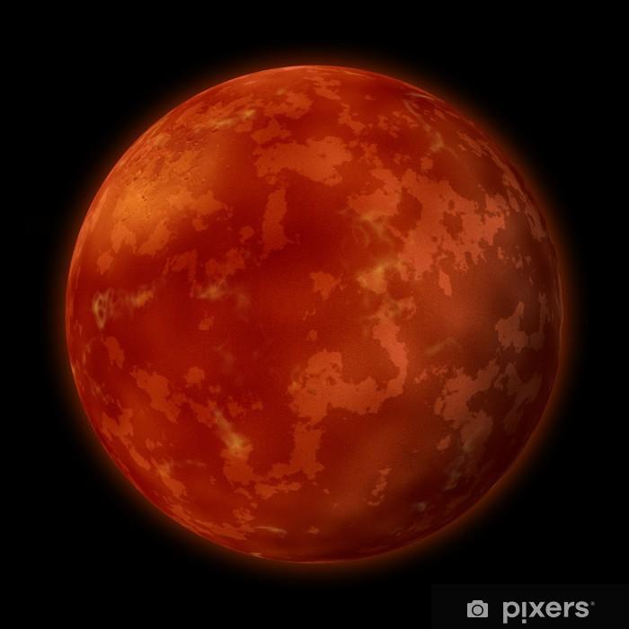 Naklejka Pixerstick Planeta Mars - Planety