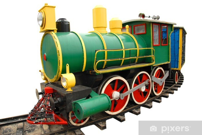 Adesivo Pixerstick Ferrovia dei bambini - Autostrade