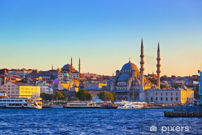 Fotomural Autoadhesivo Estambul puesta de sol - Temas