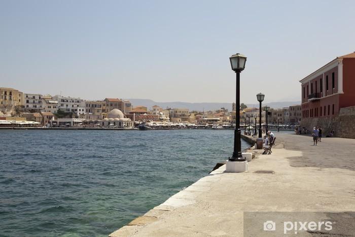 Papier peint vinyle Chania en Crète - Vacances