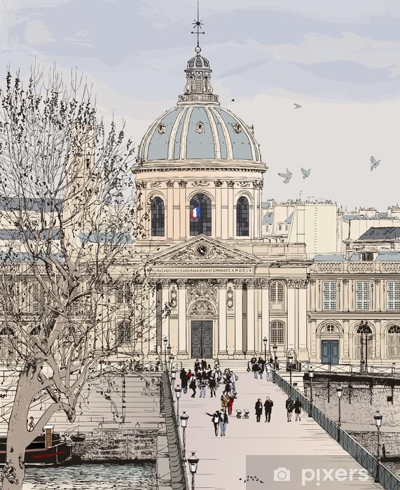 Fototapeta winylowa Pont des Arts w Paryżu - Tematy