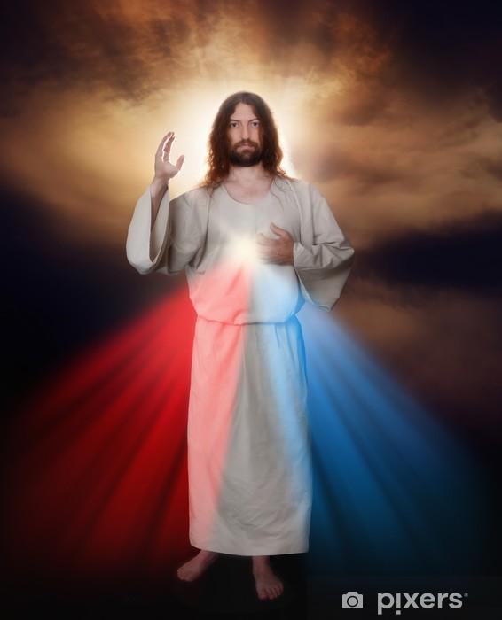 Pixerstick-klistremerke Divine Mercy Image - Themes