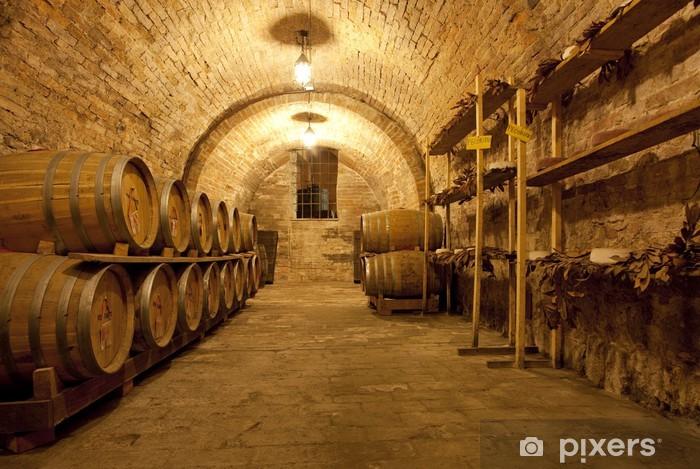 Wine cellar 2 Pixerstick Sticker - Themes