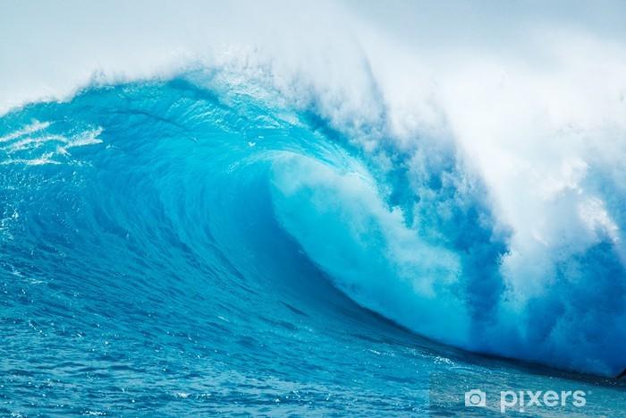 Fototapeta winylowa Beautiful Blue Ocean Wave - Morze i ocean