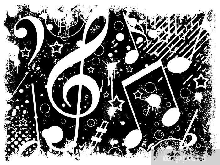 Carta Da Parati Musica Di Sottofondo Bianco E Nero Pixers