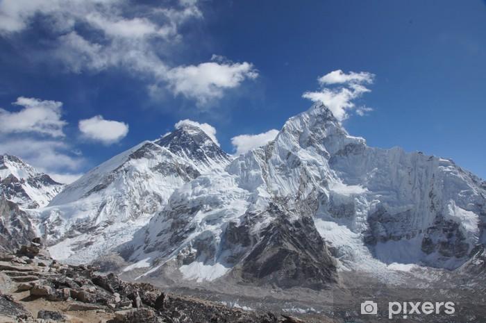 Fototapeta winylowa Everest szczyty widok z Kala Pattar, Nepal - Tematy