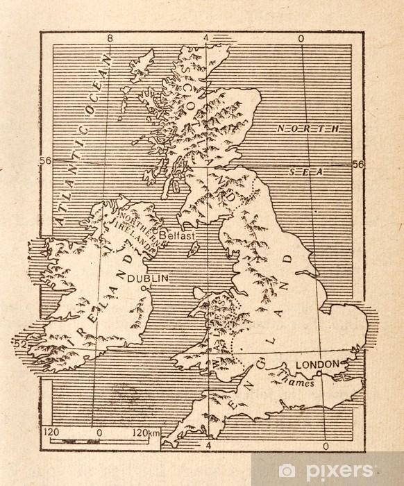 Immagini Della Cartina Della Gran Bretagna.Carta Da Parati Mappa Antica Della Gran Bretagna Pixers Viviamo Per Il Cambiamento