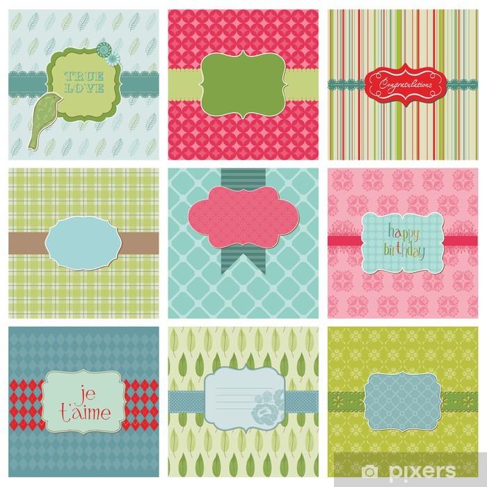Sticker Pixerstick Jeu de Cartes Belle - pour anniversaire, mariage, félicitations, - Célébrations